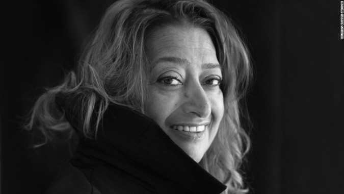 Hommage à une grande dame: Zaha Hadid
