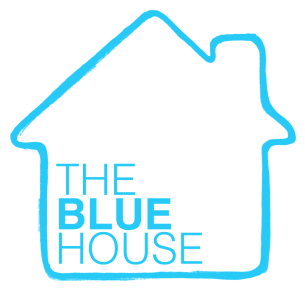 The Blue House logo -square
